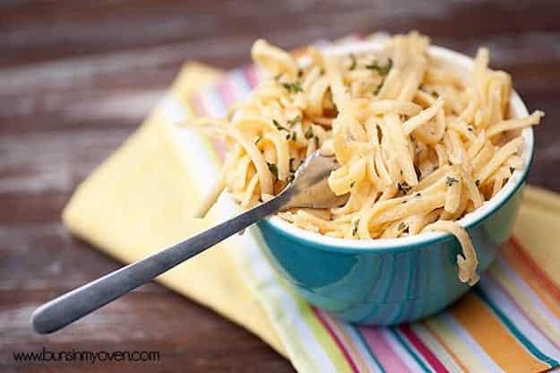 creamy pasta recipe