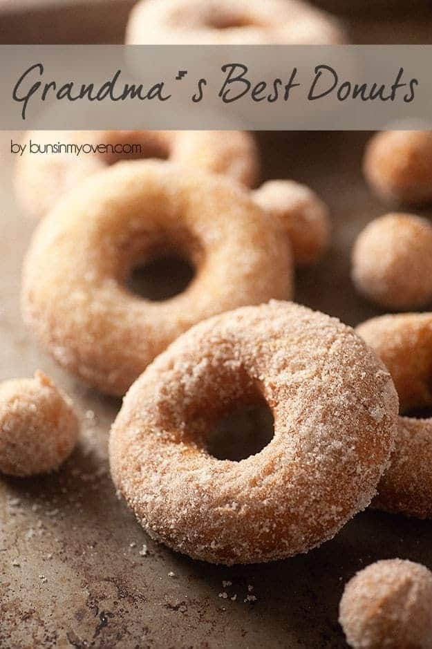 The BEST old fashioned cake donut recipe!