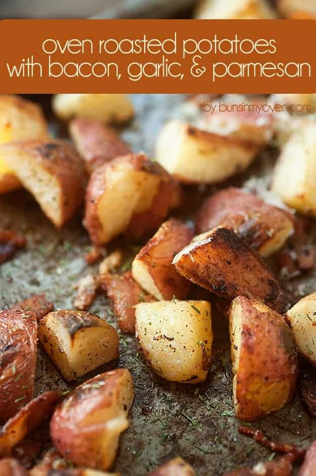 Buns In My Oven Oven Roasted Potatoes, just like you'd get at a ...