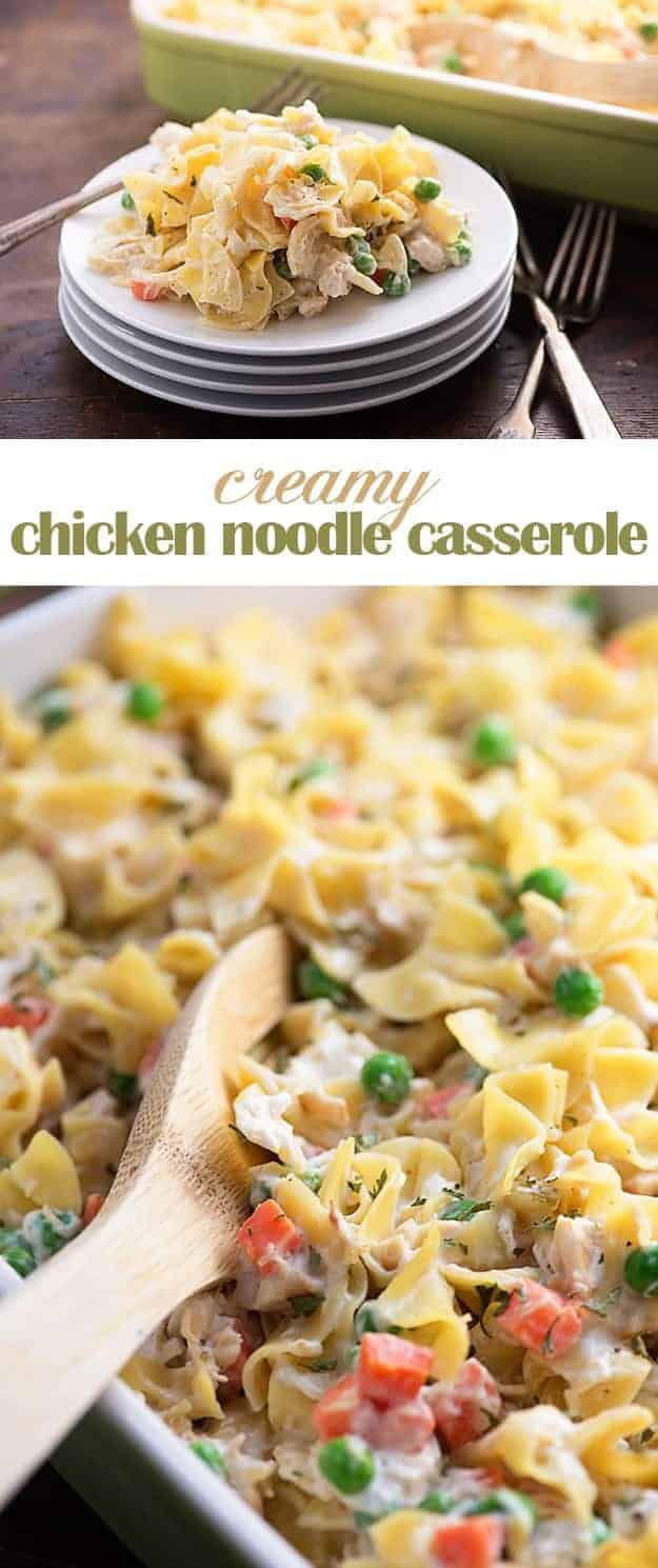 chicken noodle casserole! I love serving this comforting casserole ...