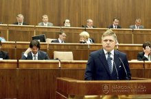 Robert Fico al Parlamento (nrsr.sk)