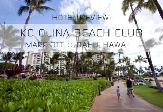 Marriott's Ko Olina Beach Club   Oahu, Hawaii