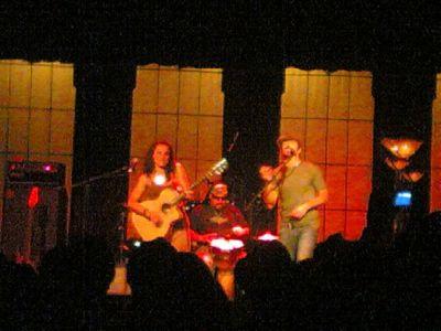 Hayley Sales, Jason Mraz and Toca Rivera - The Tivoli