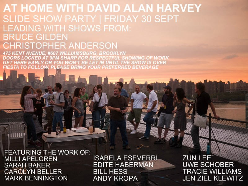At Home with David Alan Harvey - Slideshow Party