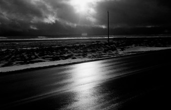 Winter (near Wanblee), Pine Ridge Reservation. (2008)