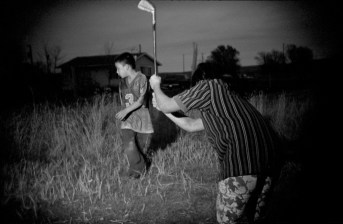 Boys play, Oglala, Pine Ridge Reservation. (2010)