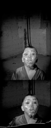 Boy with mask, Oglala, Pine Ridge Reservation. (2010)