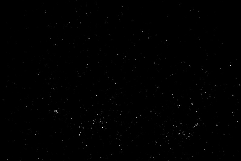 VENEZUELA, ICABARU REGION. FEBRUARY 2010. Night sky stars.