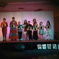 Aboriginal youth are awarded for their achievements during the Regional Aboriginal Recognition Awards in Fort McMurray.