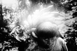 Venezuela, R'o Siapa, Maraca Ð pueblo ind'gena Yanomami