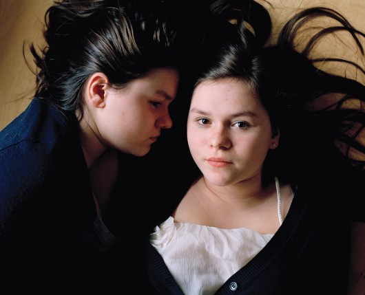 I started photographing the identical twin sisters Jana and Feby in 2005. They are 19 years old now. I have always been fascinated by their extreme closeness, both mentally and physically. The relationship between identical twins is probably the closest possible relationship there is.