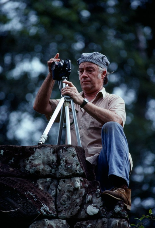 Bill Garrett in Cambodia