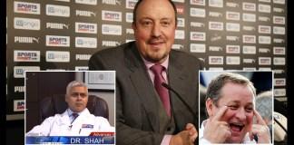 Doctors Worried For Rafa Benitez's Mental Health, As He Considers Newcastle Offer.