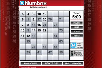 jugar-numbrix