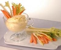 Mayonesa y zanahoria