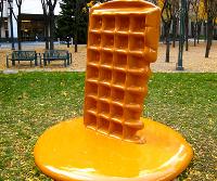 Waffle gigante
