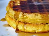 Waffles jarabe