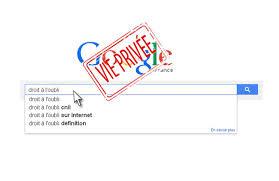 [Brève] Droit à l'oubli sur Google