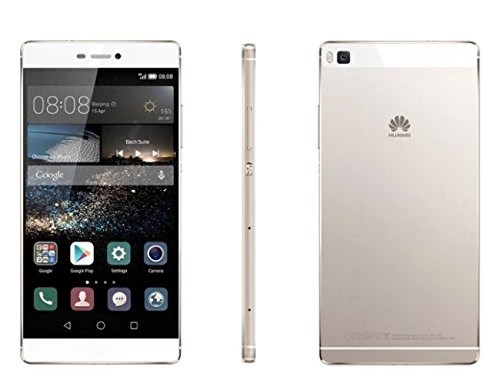 Huawei P8 Lite Dual Smartphone débloqué 4G (Ecran: 5 pouces – 16 Go – Double Micro-Nano – Android) Blanc