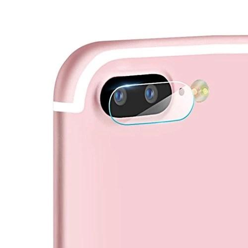 Ouneed® Pour iPhone7 Plus 5.5Inch LOT Verre Trempé Lentille Membrane Protectur (2pcs)