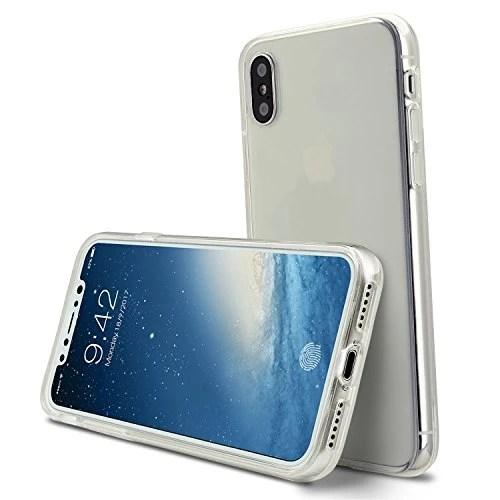 Coque iphoneX case cover Etuis en Gel Silicone et TPU Coussin d'air [Anti-rayures] Premium Flexible et Souple pour iphoneX(2017)transparente