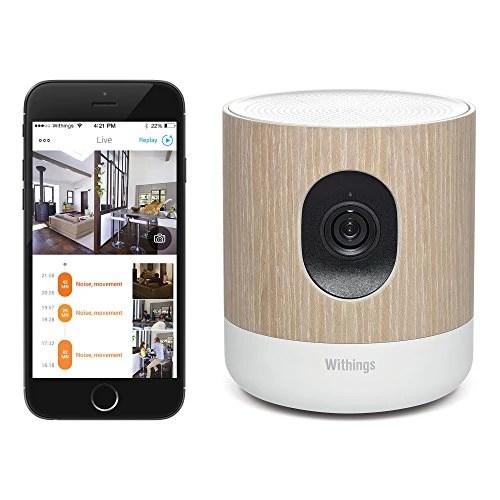 Withings Home – Caméra de Surveillance Wi-Fi avec Suivi de la Qualité de l'Air