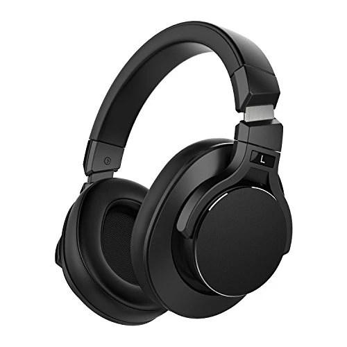 Mixcder E8 Casque Bluetooth à Réduction de Bruit Active avec Microphone Écouteurs ANC Sans Fil avec Son Stéréo, Basses Profondes, Conception Portable pour Voyage, TV, PC, Téléphones – Noir