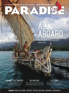 Made in PNG: a feature in Paradise magazine, May/June issue