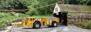 Vehicle at Kainantu Mine Source: K92
