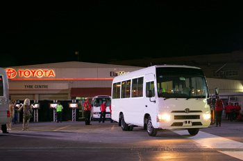 The New Toyota Coaster