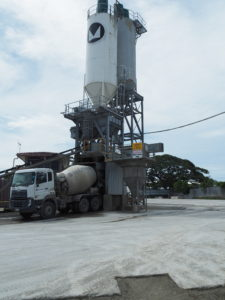 Concrete being loaded on to a cement mixer Source: Monier