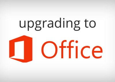 Upgrading to Microsoft Office 13