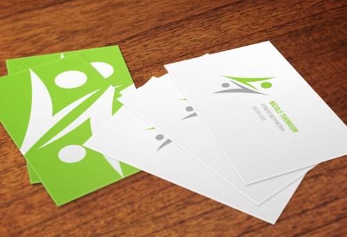 Medium Of Matte Business Cards