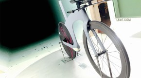 Triathlon entrepreneur rolls out first bike frame