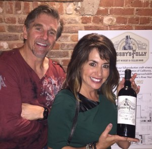 Chad and Marla Yetka plan to open the winery in spring 2017. (Courtesy Bigsby's Folly)