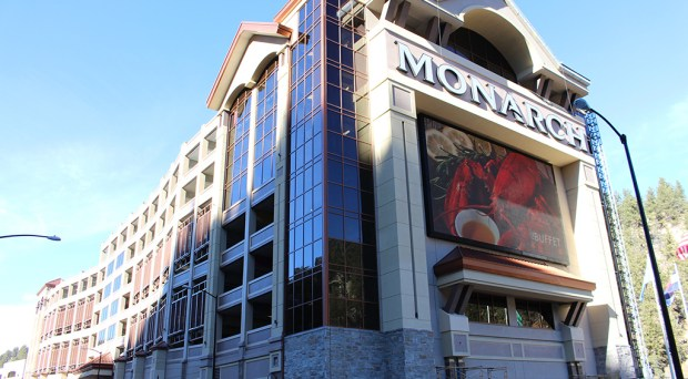 Monarch Casino recently completed work on a 1,000-spot parking deck. (Courtesy Monarch)