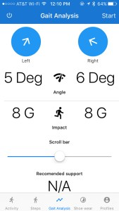 A mobile app would show running data, give training recommendations or compare to other runners.