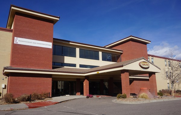The former assisted living facility at 8505 E. Lowry Blvd. sold for $16.5 million. (Burl Rolett)