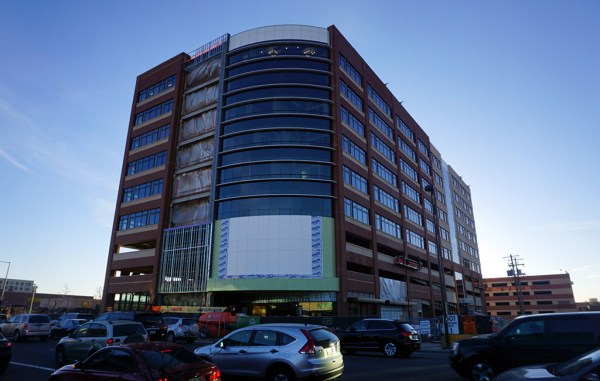 Thump Coffee will move into the first floor of the Denver Health building. (Kate Tracy)