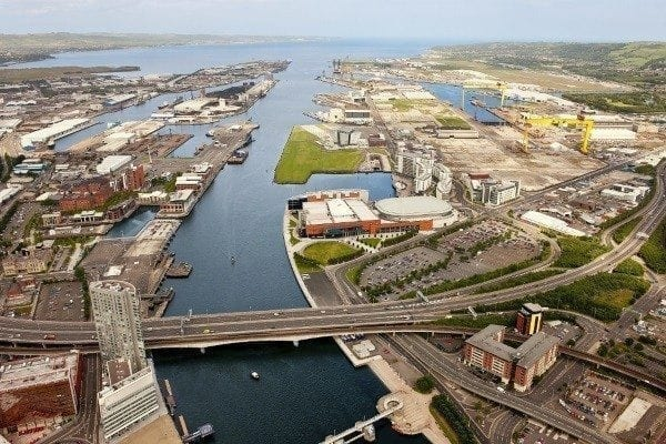 Record tonnages 'bulked up' at Belfast Harbour