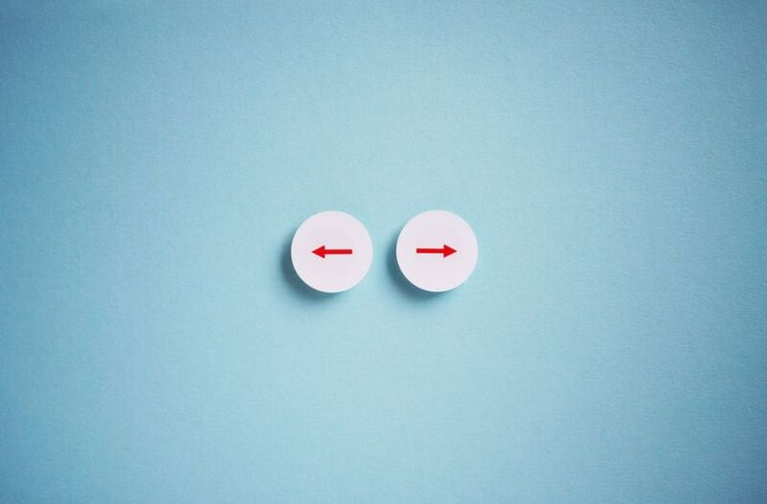 Entscheidung. Bild: söralex/Photocase.de