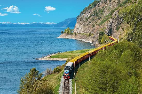 trans siberia train