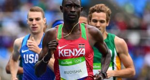 Kenya's king of 800m produced a starling finish to register his season best time.
