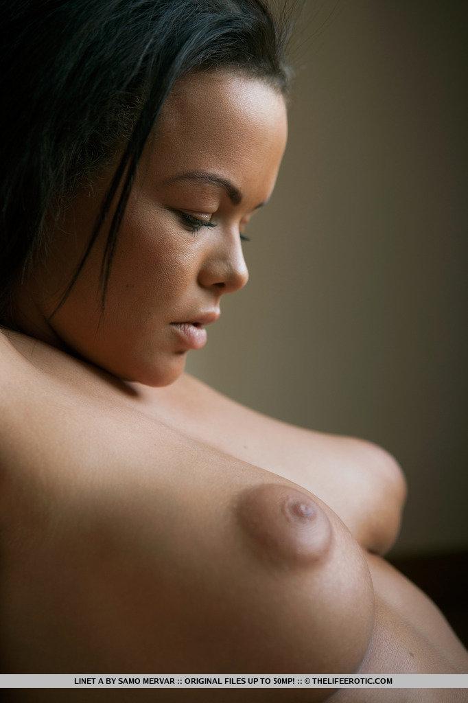 asian puffy nipples