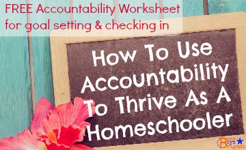 How To Use Accountability To Thrive As A Homeschooler