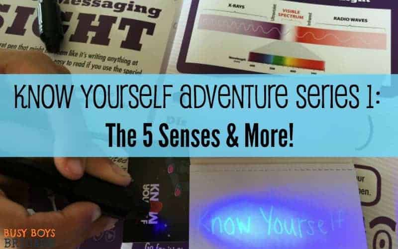 Know Yourself Adventure Series 1: The 5 Senses & More!