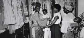 Photo of Nigerian women shopping at the Kingsways Mall Lagos in 1959