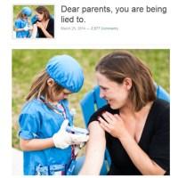 Cari genitori, vi stanno mentendo