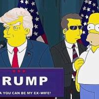 La qualità della controinformazione: i Simpson e Donald Trump