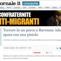 """Foreign fighters"" a Ravenna?"